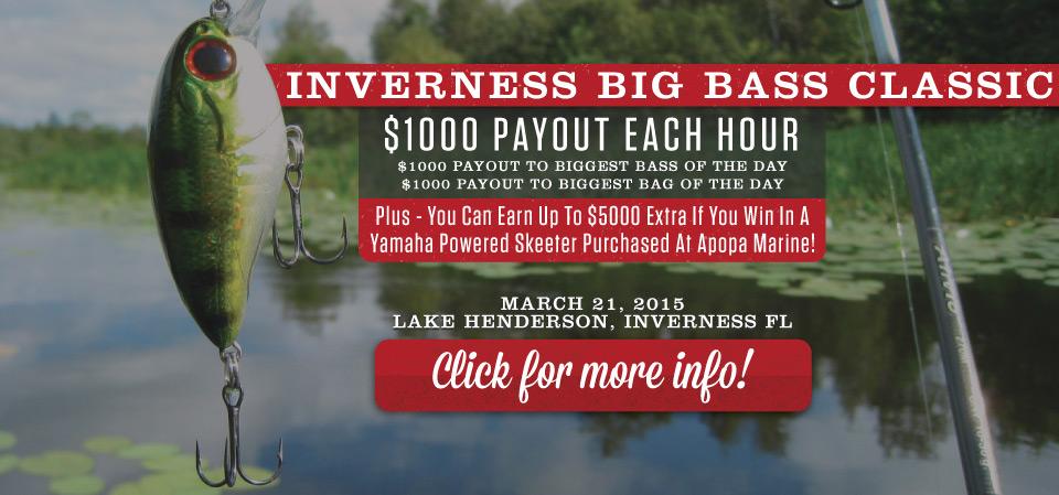 Inverness Big Bass Classic Tournament