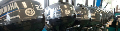good selection of yamaha outboard motors for sale