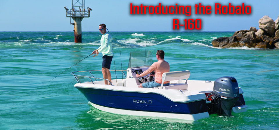 robalo saltwater fishing boats for sale