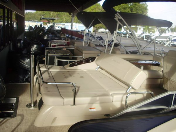 A 23RSB is a Power and could be classed as a Deck Boat, Pontoon,  or, just an overall Great Boat!