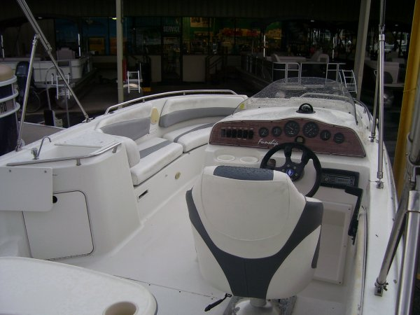 A Funship is a Power and could be classed as a Deck Boat,  or, just an overall Great Boat!