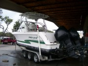 Twin Mercury 225 opti 2001 Pro-Line 27wac for sale in INVERNESS, FL