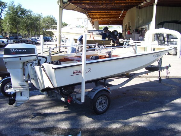 Johnson outboard 1981 Boston Whaler 15 SPORT for sale in INVERNESS, FL