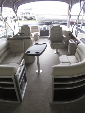 A 20SSRX is a Power and could be classed as a Pontoon,  or, just an overall Great Boat!