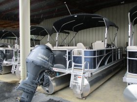 2019 Bennington 21SSX Tri_Toon for sale at APOPKA MARINE in INVERNESS, FL