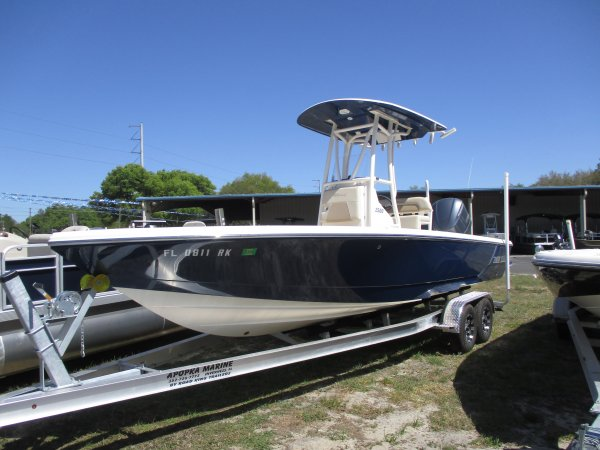A bay boat is a small open boat usually outboard powered and used to navigate and fish salt water bays.