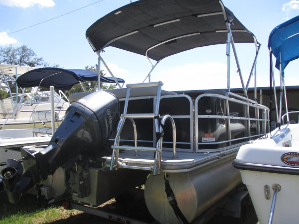 Covered by a bimini top to keep you in the shade 2014 South Bay 20C for sale in INVERNESS, FL