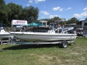 Action Craft Flats Boat with Bimini Top 2003 Action Craft 1802 Flats Pro for sale in INVERNESS, FL
