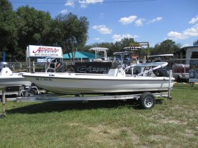 2003 Action Craft 1802 Flats Pro for sale at APOPKA MARINE in INVERNESS, FL