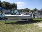 Action Craft Flats Master on a Fast Load Trailer 1998 Action Craft 1820 Flats Master for sale in INVERNESS, FL