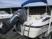 yamaha f200 powered used deck boat 2008 Southwind 210SD for sale in INVERNESS, FL