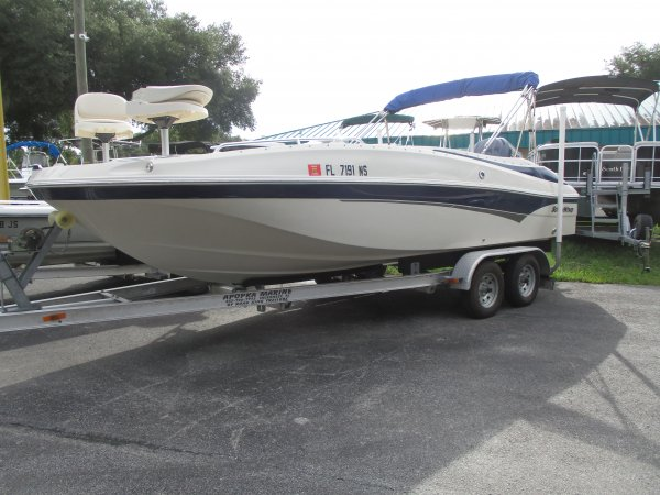 Pre-Owned 2008  powered Southwind Boat for sale 2008 Southwind 210SD for sale in INVERNESS, FL
