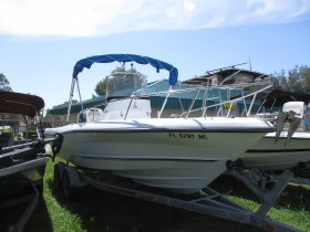 2004 Triumph 210CC for sale at APOPKA MARINE in INVERNESS, FL