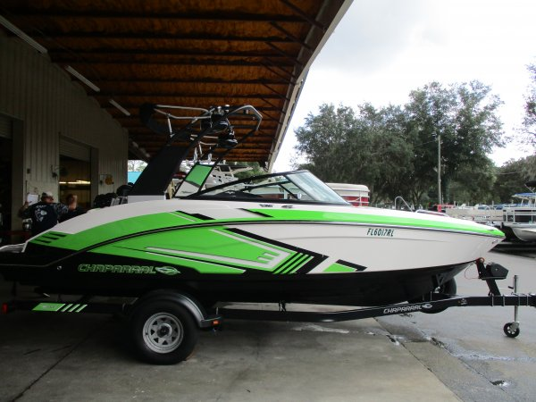 Pre-Owned 2015  powered Power Boat for sale 2015 Chaparral Vortex 203 VRX for sale in INVERNESS, FL