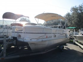 2009 G3 Suncatcher LX20 for sale at APOPKA MARINE in INVERNESS, FL