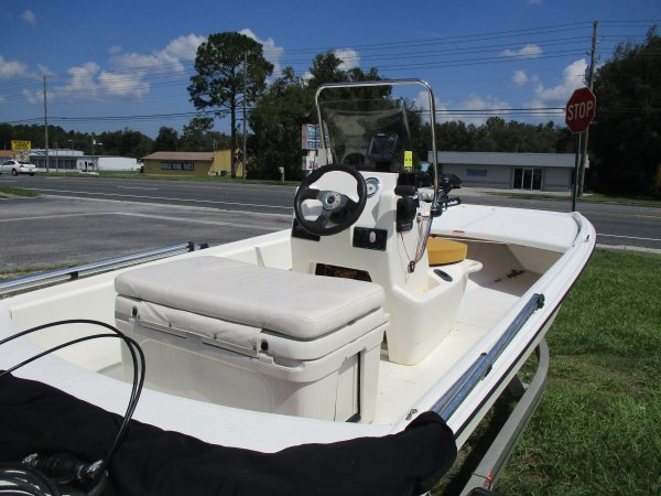 Used 2012 Power Boat for sale 2012 Mako Por 16 Skiff CC for sale in INVERNESS, FL