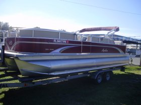 2013 Avalon Pontoon 2485 DLR for sale at APOPKA MARINE in INVERNESS, FL