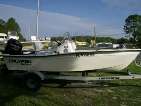 2016 Boston Whaler Calypso Skiff 16' for sale at APOPKA MARINE in INVERNESS, FL