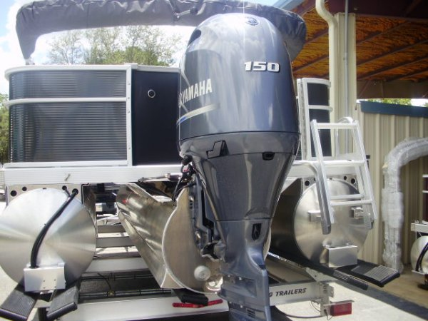 Yamaha 150 4-Stroke 2021 Bennington 21SSX Tritoon for sale in INVERNESS, FL