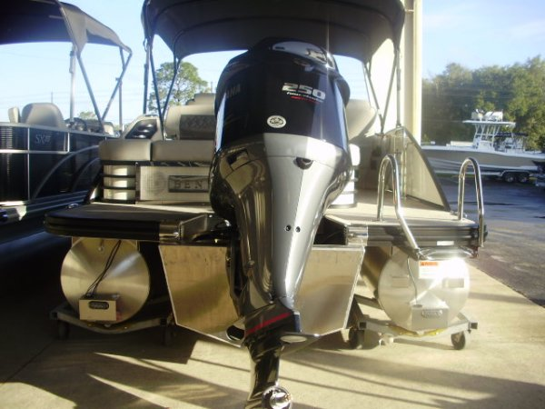 Yamaha SHO 250 2021 Bennington 23LTSB Tritoon for sale in INVERNESS, FL