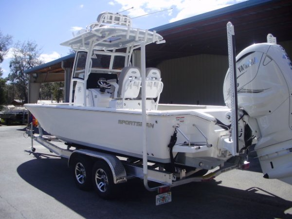 Pre-Owned 2021 Sportsman 267OE Power Boat for sale 2021 Sportsman 267OE for sale in INVERNESS, FL